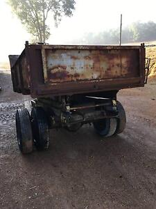 FARM TIPPING TRAILER PULL WITH TRACTOR PTO TIPPER Gidgegannup Swan Area Preview