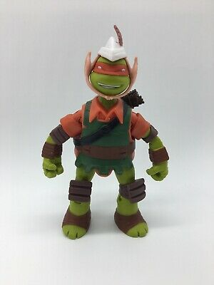 """TMNT MIKEY THE ELF Teenage Mutant Ninja Turtles 5"""" Figure 2014"""