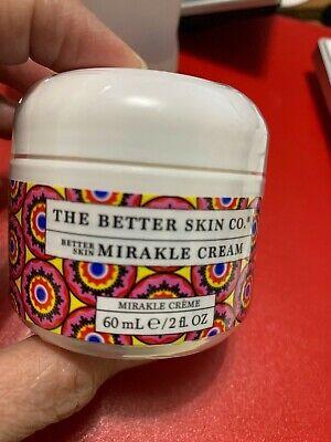 The Better Skin Co Mirakle Cream FULL SIZE (2oz/60mL) Brand New - Factory