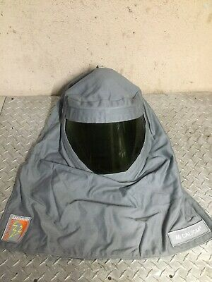 Large Size 9 Khaki National Safety Apparel KIT2CVPR08BLG09 ArcGuard Dupont Protera Arc Flash Kit with Coverall and Balaclava 8.5 Calorie