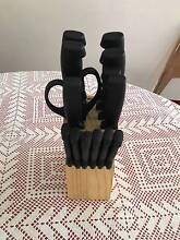 14 piece K-Mart knife block Strathfield Strathfield Area Preview