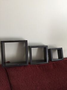 Set of 3 shadow boxes