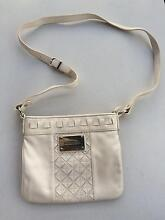 Oroton leather satchel bag - cream colour - adjustable strap Bronte Eastern Suburbs Preview