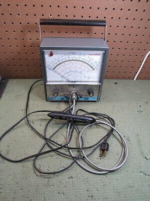 Vintage Bk Precision Dynascan Model 177 Vtvm Multimeter  Pr-43 Probe