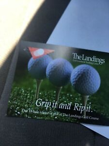 2 green fees for the landings golf course