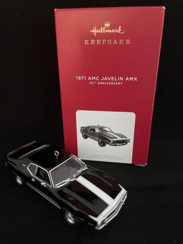 AMC JAVELIN AMX 1971 -LIMITED EDITION 50TH Anniversary  2021 Hallmark Ornament