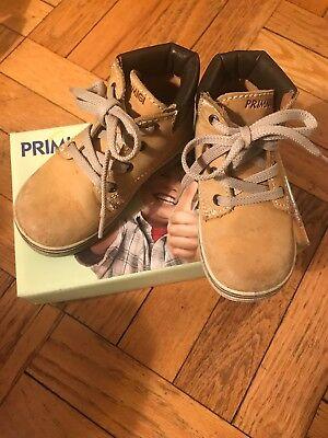 Primigi Toddler Boys Shoes - PRIMIGI Shoes Boys Toddler Ankle Boots Tan Nabuk Leather Sz 22 US 6