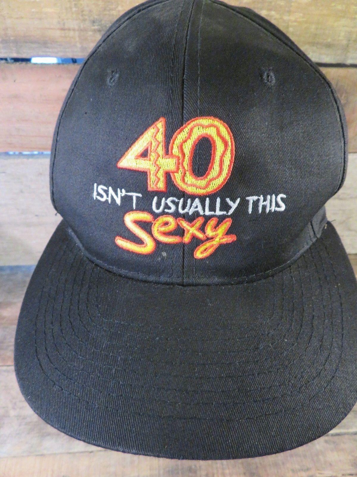 40 Isn'T Normalerweise Dieses Sexy Schuhkarton Verstellbar Erwachsene Hut Kappe