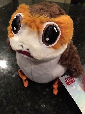 New Star Wars The Last Jedi Porg Plush 9  Disney Store Exclusive