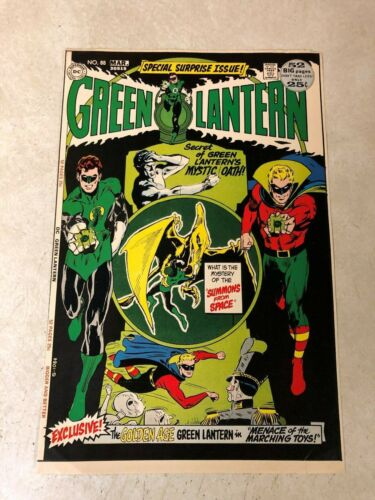 Green Lantern #88 art approval cover proof 1972 NEAL ADAMS golden age LANTERN