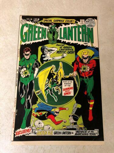 Green Lantern #88 art approval cover proof 1972 NEAL ADAMS golden age LANTERN