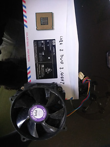 Cpu and fan socket 775