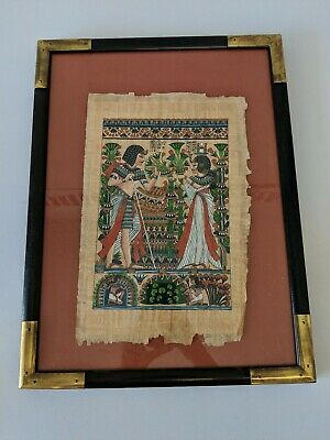 ASSEMBLED 14 x 18 CANVAS Gold Basketweave Wood Picture Frame w Glass /& Backing