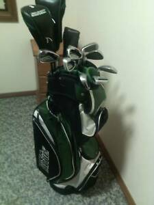Shark golf clubs & bag. Complete set