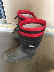 Steel toe boots insulated size8 men's $20