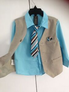 Boys Vest and shirt Warrimoo Blue Mountains Preview