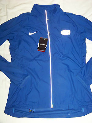 Nike Womens University of Florida UF Gators MicroFiber Running Jacket Retail $75