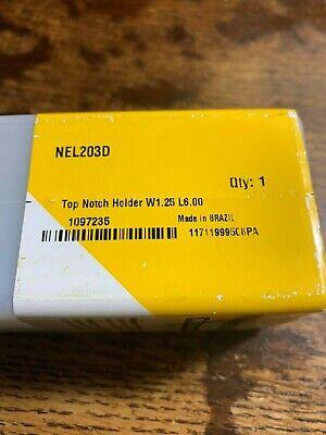 New Nel 203d Kennametal Tool Holder Nel203d Top Notch Holder W1.25x L6.00