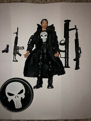 Marvel Legends Punisher Movie Figure Toybiz Thomas Jane Complete