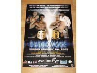 Pride FC Poster Ccii Wanderlei Silva Fedor Emelianenko Nogueira UFC IN Mint
