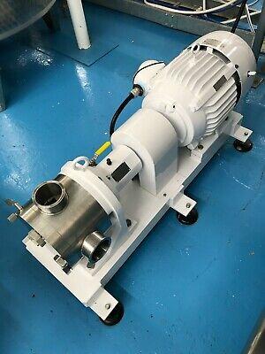 3 Kontro Sine Pump Sps-30 Sanitary Positive Displacement