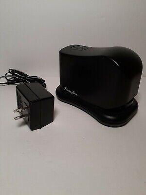 Swingline Electric Stapler With Ac Power Cord Model 211xx Black For Office Desk