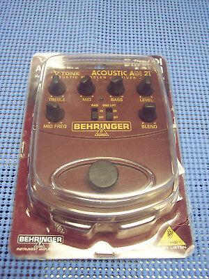 Behringer Acoustic Effects Pedal (Behringer V-Tone Acoustic Driver DI - ADI21 Enhance your Acoustic Guitar Sound!  )