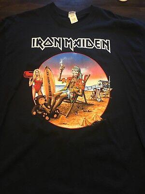 Iron Maiden Dated California Event Shirt XL