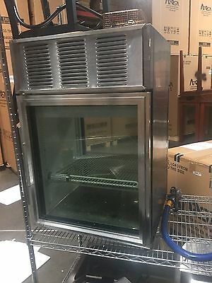 Used True Countertop Refrigerated Display Case Gdm-06-pt-s Stainless Steel