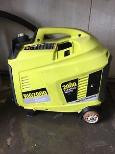 Ryobi 2 kva generator $150 Highland Park Gold Coast City Preview