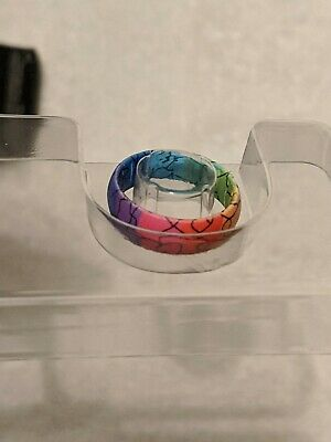 Enso Limited Edition Inked Ring - Rainbow Man size 7