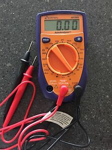 Multimeter, Actron auto analyzer multimeter