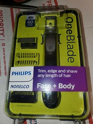 NEW PHILIPS NORELCO ONEBLADE FACE & BODY Hybrid Electric Shaver # QP2630/70