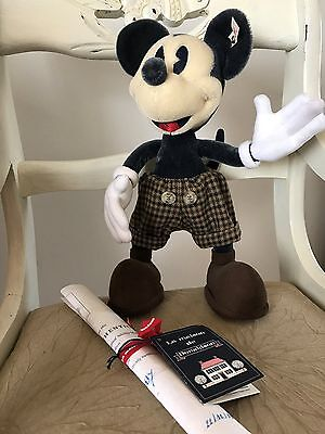 Steiff Disney Mickey Mouse Limited Edition