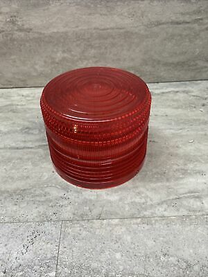 Federal Signal K8263079a-02 Red Replacement Dome For Electraflash Strobe New
