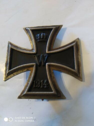 Ww1 German Iron cross 1st class magnetic.