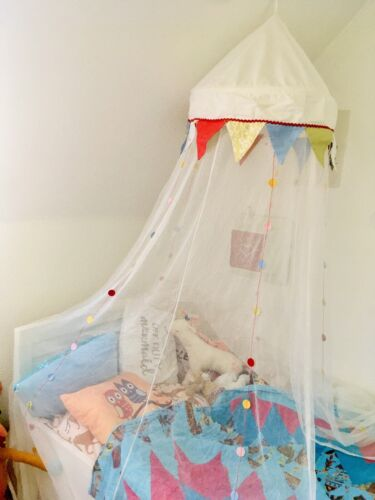 *Wunderschöner Ikea Betthimmel, Modell Fabler Zirkus, supergepflegt, 1A!*