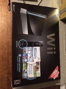 Wii system with games & fitness balance board