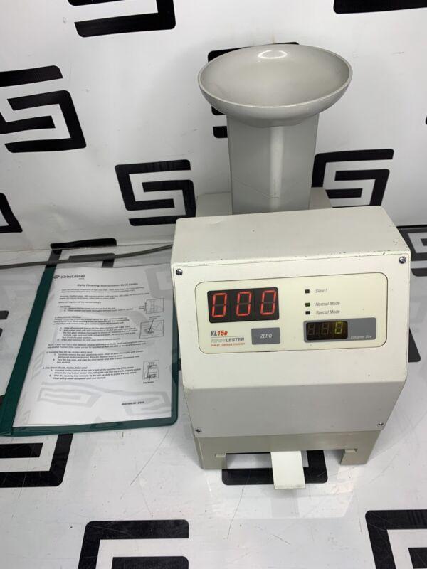 Kirby Lester KL15E Pill Tablet Counter KL15 Capsule KL 15 30 Day Warranty