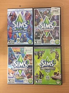 The SIMS games