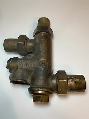 Penberthy Water Injector Hit Miss Steam Engine Boiler Steampunk Brass Dd21