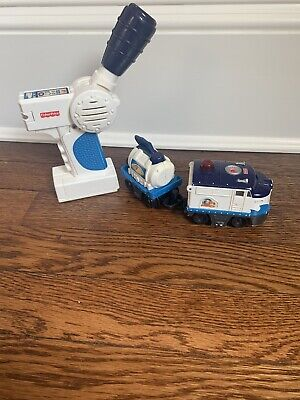 Fisher Price GeoTrax Oceanside Flier Remote Control Train Works With Track