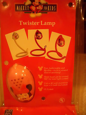 VINTAGE  MINNIE MOUSE TWISTER LAMP -Mickey for Kids - Flexible