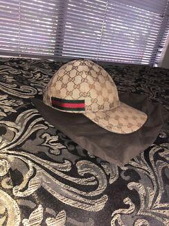 Authentic beige Gucci cap