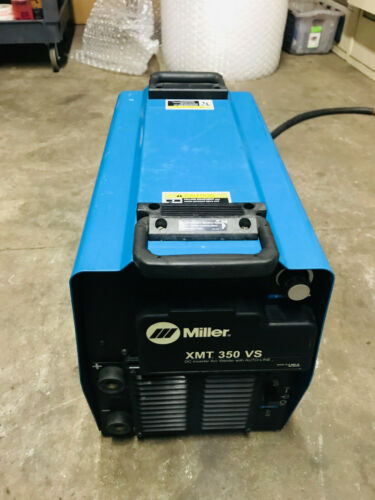 Miller XMT 350VS Multiprocess Welder