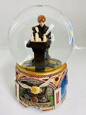 HARRY POTTER Ron Weasley Sorcerer's Stone Snow Globe (Damaged) No Music.