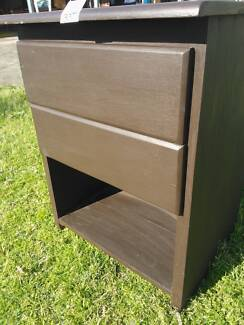 LARGE 2 DRAWER BEDSIDE TABLE CABINET*MANY TO CHOOSE FROM
