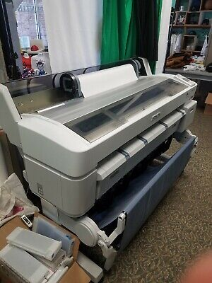 Wide Format Epson Surecolor T7270 And Rotary Heat Press Sublimation Bundle