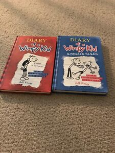 Diary of a Wimpy Kid books 1&2