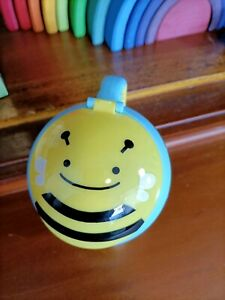 Baby/Toddler snack cup No spill SkipHop Zoo series Bee